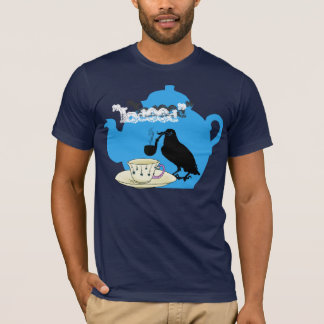 Mustache crow T-Shirt