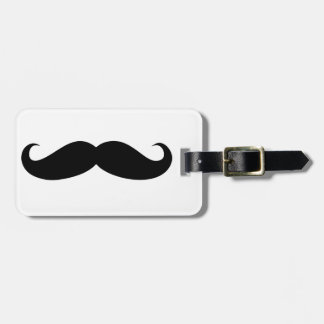 Mustache Disguise Funny Luggage Tag