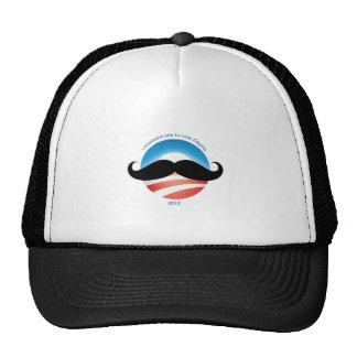 Mustache for Obama - 2012 Cap