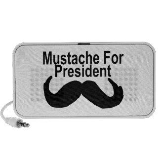 Mustache For President Travel Speaker