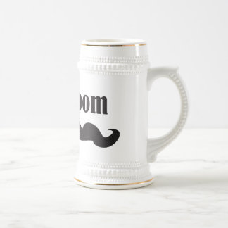 Mustache Groom Coffee Mug