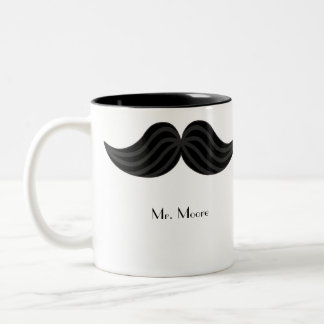 Mustache Groom's Right-handed Mug