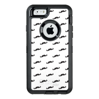 Mustache hipster pattern 2 OtterBox iPhone 6/6s case