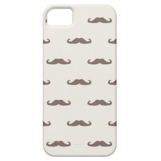 Mustache hipster pattern 3 barely there iPhone 5 case