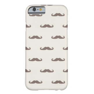 Mustache hipster pattern 3 barely there iPhone 6 case