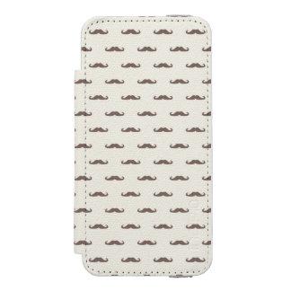Mustache hipster pattern 3 incipio watson™ iPhone 5 wallet case