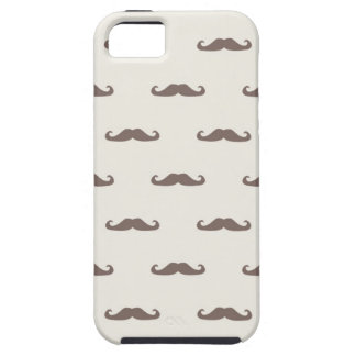 Mustache hipster pattern 3 iPhone 5 case
