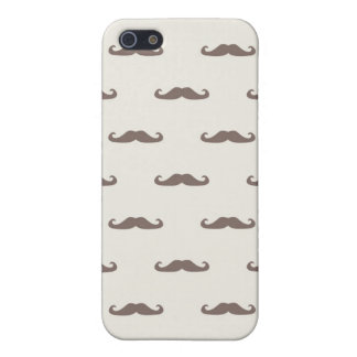 Mustache hipster pattern 3 iPhone 5 cover