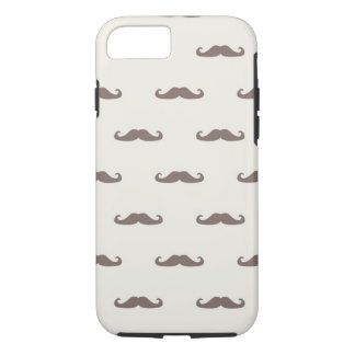 Mustache hipster pattern 3 iPhone 8/7 case