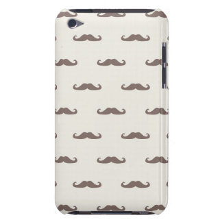 Mustache hipster pattern 3 iPod touch cases
