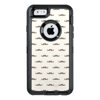 Mustache hipster pattern 3 OtterBox iPhone 6/6s case