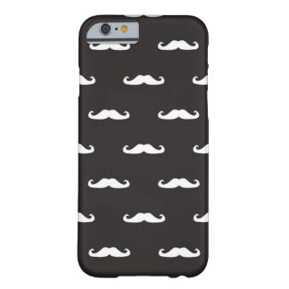 Mustache hipster pattern barely there iPhone 6 case