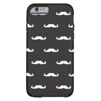 Mustache hipster pattern tough iPhone 6 case