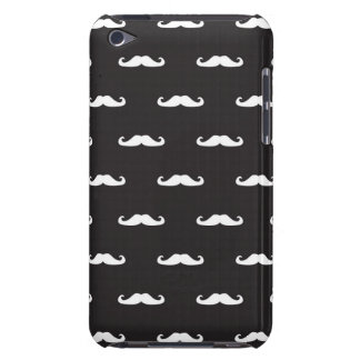 Mustache hipster pattern Case-Mate iPod touch case