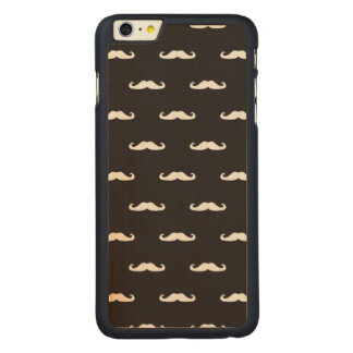 Mustache hipster pattern iPhone 6 plus case