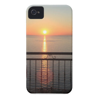 Mustache in a sunset iPhone 4 covers