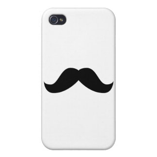 Mustache iPhone 4/4S Cover