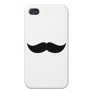 Mustache iPhone 4/4S Covers