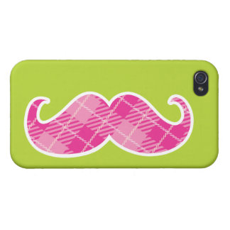 Mustache iPhone 4 Covers