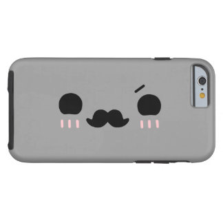 Mustache,iPhone 6 Case[Color Can Be Changed] Tough iPhone 6 Case