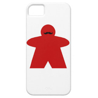 Mustache Meeple iphone case Barely There iPhone 5 Case