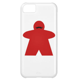 Mustache Meeple iphone case iPhone 5C Cases