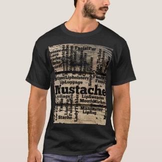 Mustache Men's Basic Dark T-Shirt