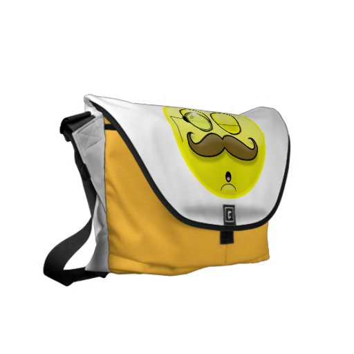 Mustache & Monocle Smilie Bag Courier Bags