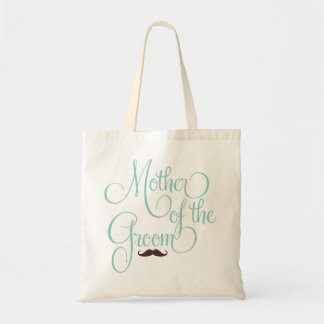 Mustache -Mother of the Groom Budget Tote Bag