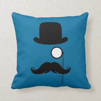 Mustache Moustache Stache Man Cushion