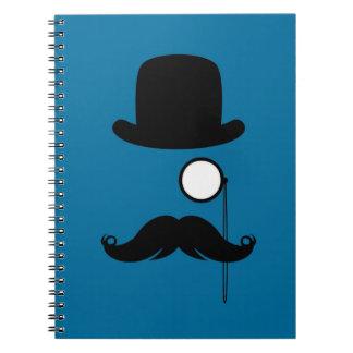 Mustache Moustache Stache Man Notebooks