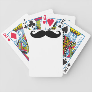 Mustache Mustache, Moustache design Bicycle Playing Cards
