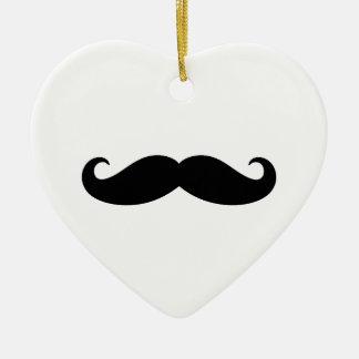 Mustache Mustache, Moustache design Christmas Ornament