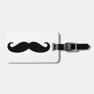 Mustache Mustache, Moustache design Luggage Tag