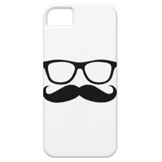 Mustache Nerd Case For The iPhone 5