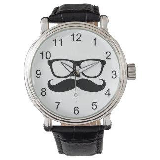 Mustache Nerd Watch