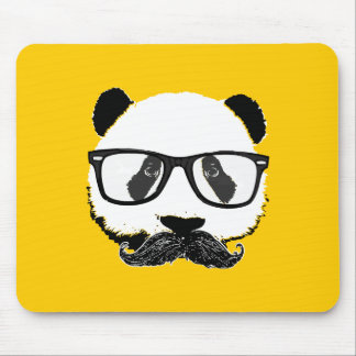 Mustache Pandaz In Da Disco Mouse Mat