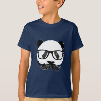 Mustache Pandaz In Da Disco T-Shirt