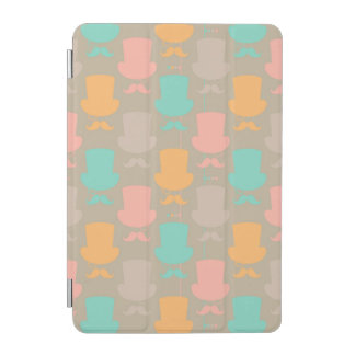 Mustache pattern 2 iPad mini cover