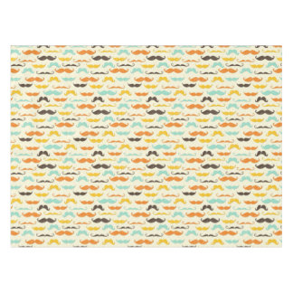 Mustache pattern 3 tablecloth