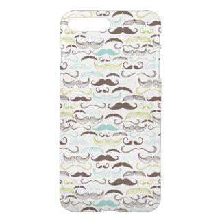 Mustache pattern, retro style 2 iPhone 8 plus/7 plus case