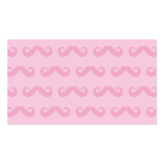 Mustache Pinks Pack Of Standard Business Cards