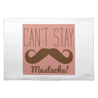 Mustache Place Mats