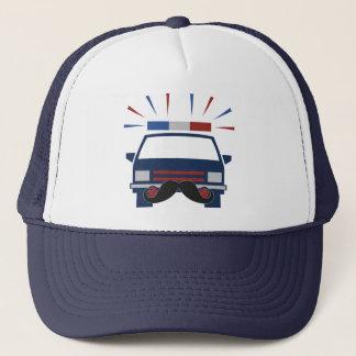Mustache Police hat - choose color