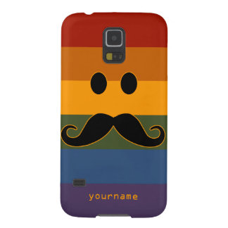 Mustache Pride custom cases