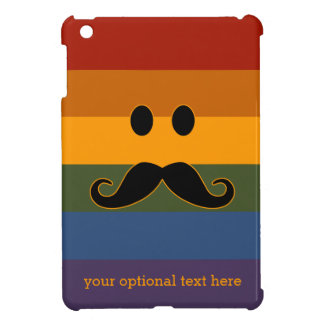 Mustache Pride custom cases iPad Mini Cover