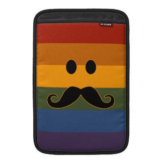 Mustache Pride custom MacBook case