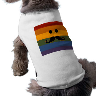 Mustache Pride custom pet clothing