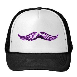 Mustache Purple Black The MUSEUM Zazzle Gifts Cap