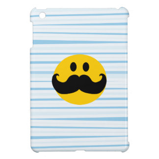 Mustache Smiley iPad Mini Cases